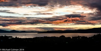 Lake Taupo Sunset